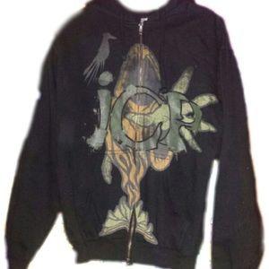 Rare Vintage The Wraith Shangri La Zip Up Hoodie